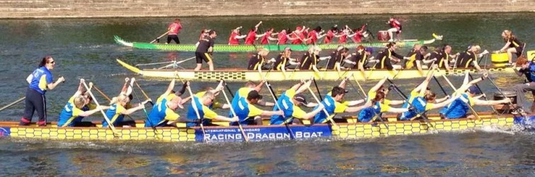 Dragonboating Charity River Race 2015