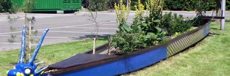 Dragonboat Memorial Planter